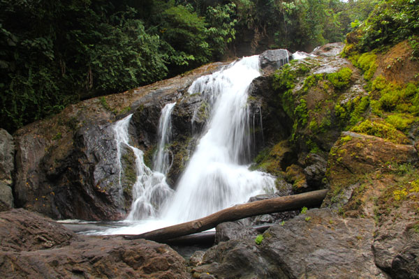 Agujitas River Waterfall